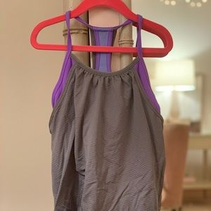 lululemon athletica Shirts & Tops - Cute ivivvia top size 8 girls